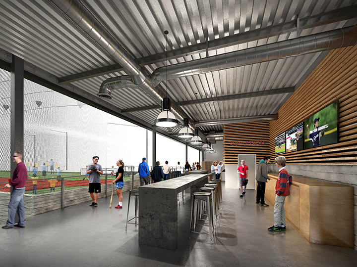 Indoor Baseball Facility Round Rock Architecture